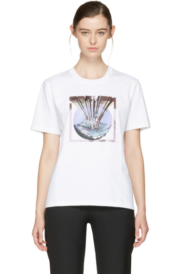 Carven - White Logo T-Shirt