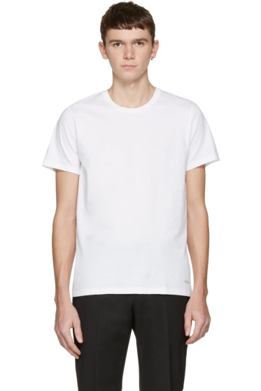 Calvin Klein Underwear - Three-Pack White Classic-Fit T-Shirts