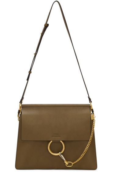 Chloé - Khaki Medium Faye Bag