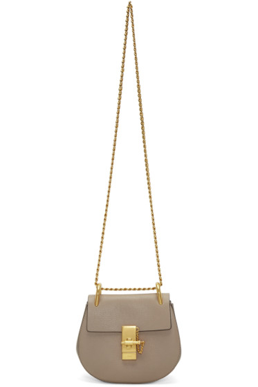 Chloé - Grey Mini Drew Bag