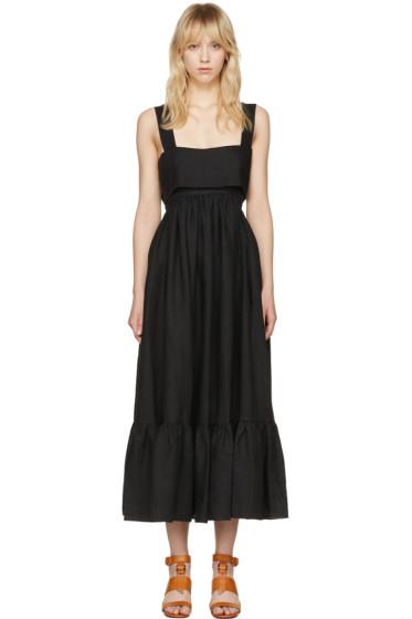 Chloé - Black Bow Back Dress