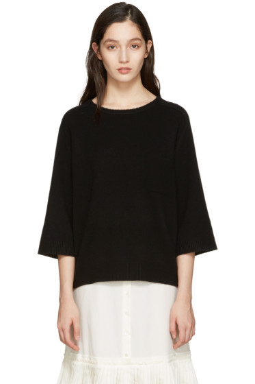Chloé - Black Cashmere Iconic Sweater