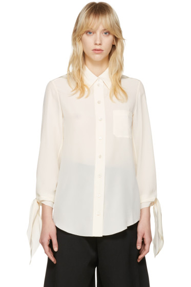 Chloé - Ivory Classic Pocket Shirt
