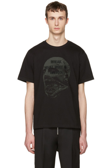 Juun.J - Black 'Break What Must Be Broken' T-Shirt