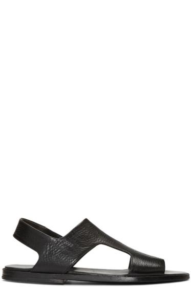 Marsèll - Black Tost Sandals