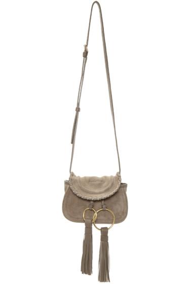 See by Chloé - Grey Mini Tassels Bag