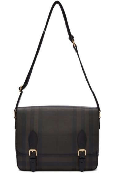 Burberry - Brown Hendley Messenger Bag
