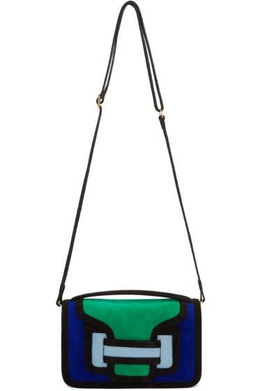 Pierre Hardy - Multicolor Suede Alpha Cross Body Bag