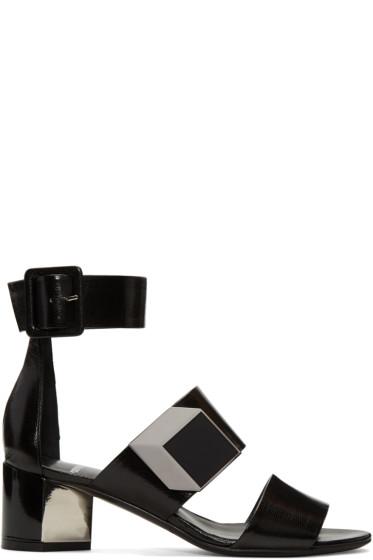 Pierre Hardy - Black De D'Or Illusion Sandals