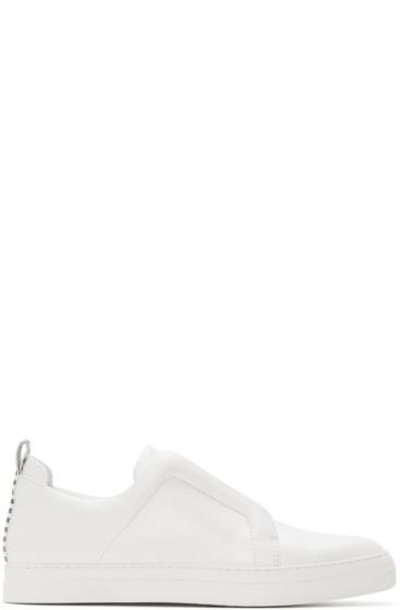 Pierre Hardy - White Slider Sneakers