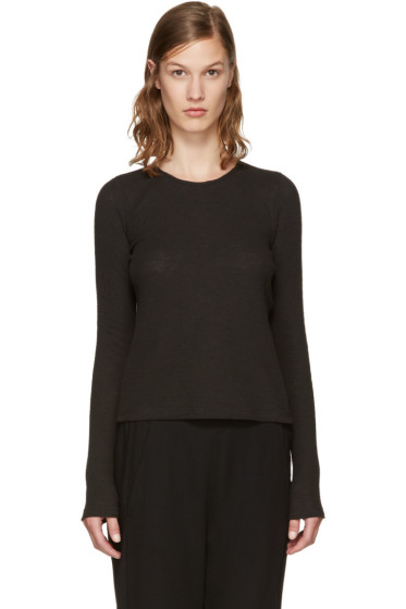 Ann Demeulemeester - Black Toulouse Pullover