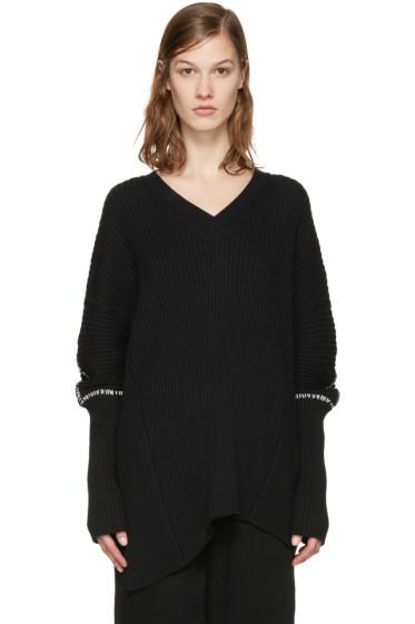 Ann Demeulemeester - Black Tuareg Sweater