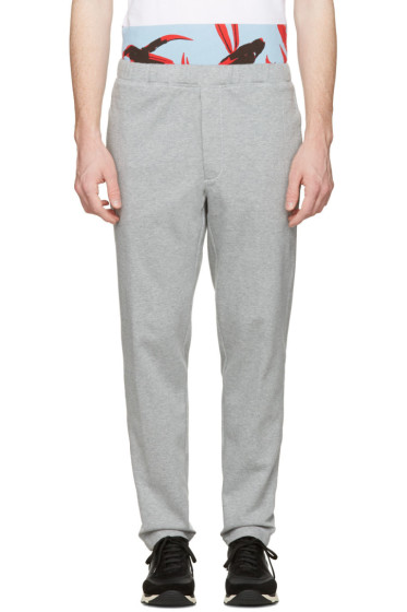 Marni - Grey Cotton Lounge Pants