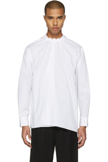 Marni - White Back Button Shirt