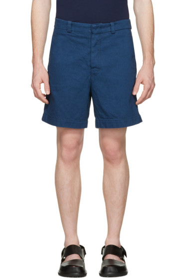 Marni - Blue Denim Shorts