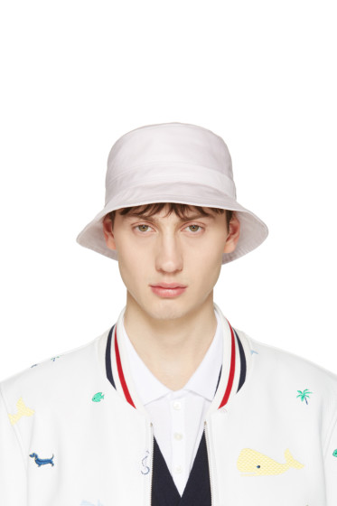 Thom Browne - Pink Bucket Hat