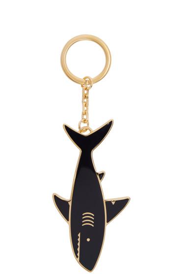 Thom Browne - Navy Shark Keychain