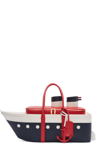 Thom Browne - Tricolor Cruise Liner Tote