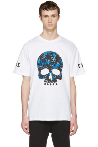 Markus Lupfer - White Skull T-Shirt
