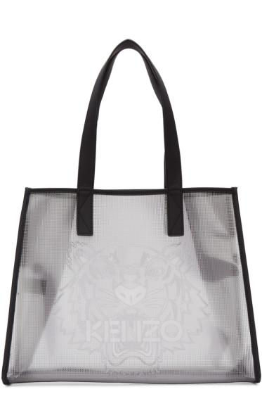 Kenzo - Clear East West Tote Bag