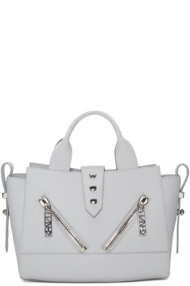 Kenzo - Grey Mini Kalifornia Duffle Bag