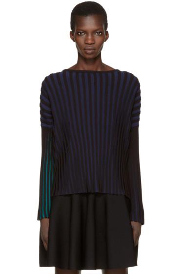 Kenzo - Black Plisse Pullover