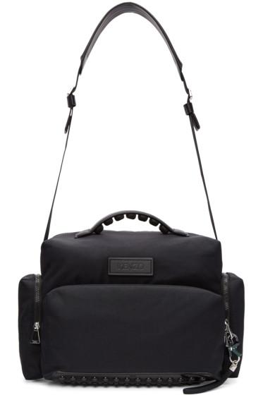 Kenzo - Black Studded Duffle Bag