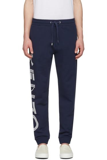 Kenzo - Navy Logo Lounge Pants