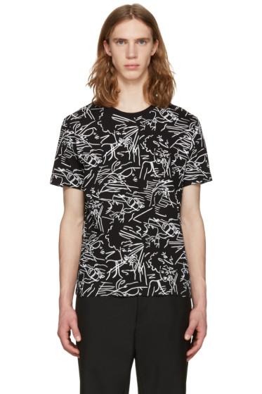 Kenzo - Black Sketches T-Shirt