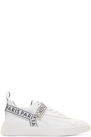 Kenzo - White Calvin Sneakers