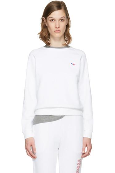 Maison Kitsuné - White Fox Patch Pullover