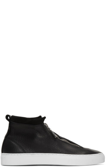 Diemme - Black Fontesi High-Top Sneakers
