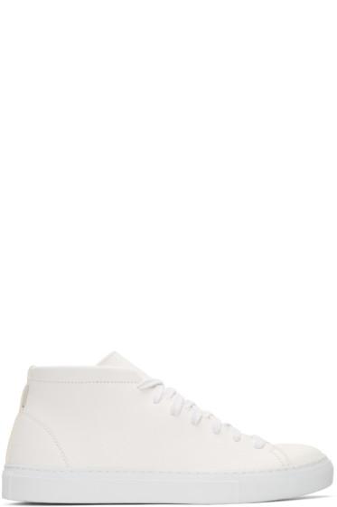 Diemme - Ivory Loria Mid-Top Sneakers