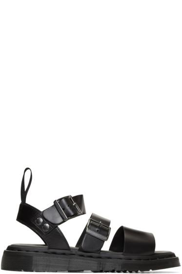 Dr. Martens - Black Gryphon Sandals