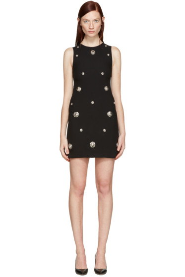 Versus - Black Lion Medallion Dress