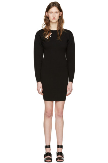 Versus - Black Double Pin Dress