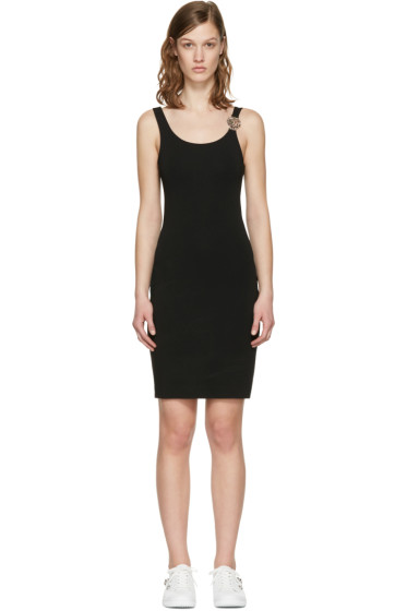 Versus - Black Lion Strap Dress