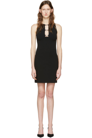 Versus - Black Triple Lion Dress