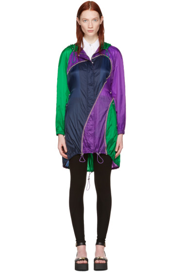 Versace - Tricolor Nylon Parachute Parka