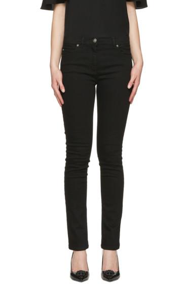 Versace - Black Swarovski Medusa Jeans
