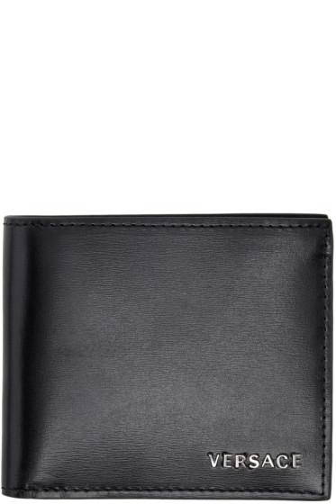 Versace - Black Classic Bifold Wallet