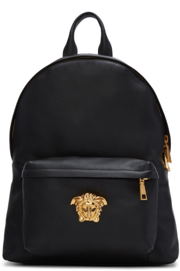 Versace - Black Medusa Backpack