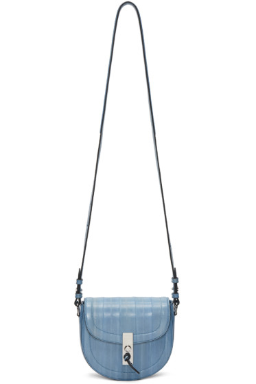 Altuzarra - Blue Mini Ghianda Saddle Bag