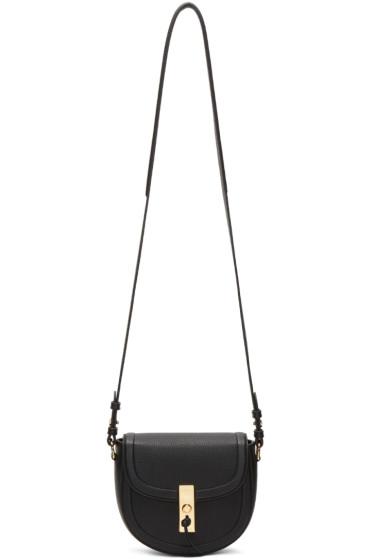 Altuzarra - Black Mini Ghianda Saddle Bag