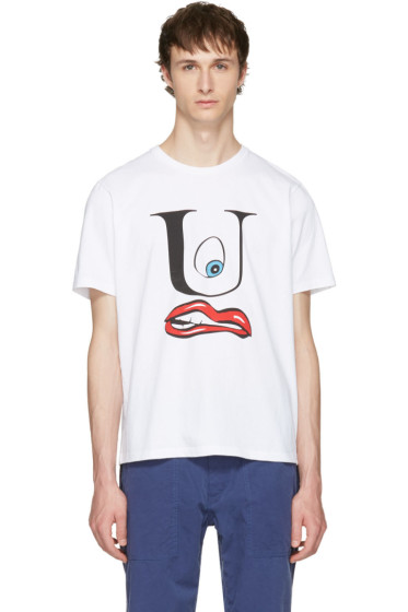 Undercover - White U Face T-Shirt