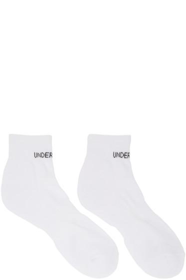 Undercover - White Logo Socks
