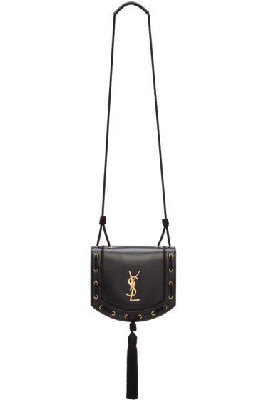 Saint Laurent - Black Medium Fetish Passementerie Satchel