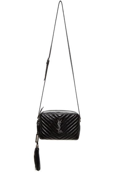 Saint Laurent - Black Small Monogram Camera Bag