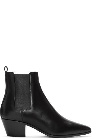 Saint Laurent - Black Rock Boots