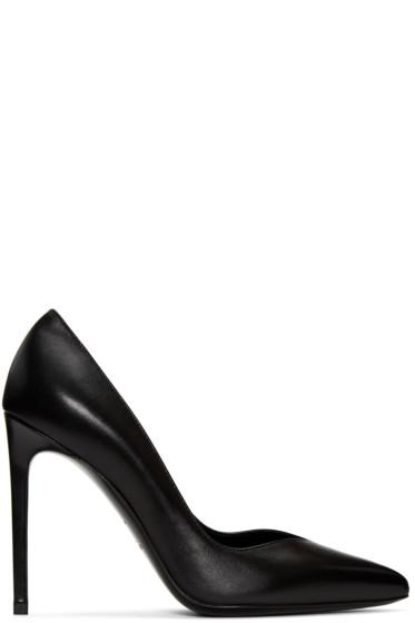 Saint Laurent - Black Paris Skinny Heels